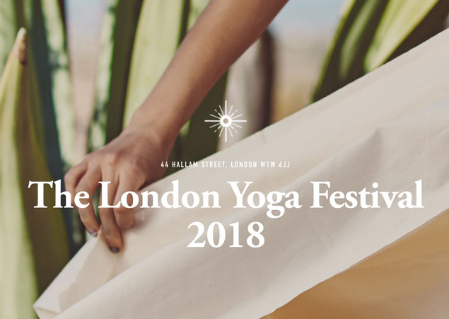 Dharma Dynamics at the London Yoga Festival 2018